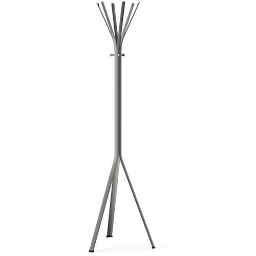 NINE Grey Coat Stand with Matching Hooks
