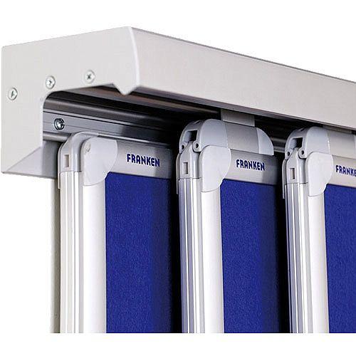 Franken Conference Rail System PRO 3-Channels 4000mm PSS8400