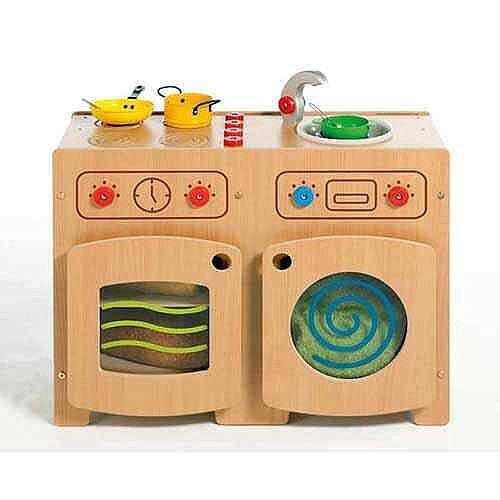 Modular Beech Kitchen 1