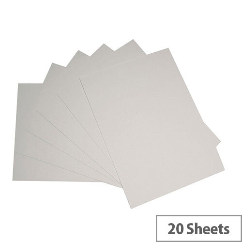 RDI Office A3 Paper Card White 205gsm Pack of 20 WCA320