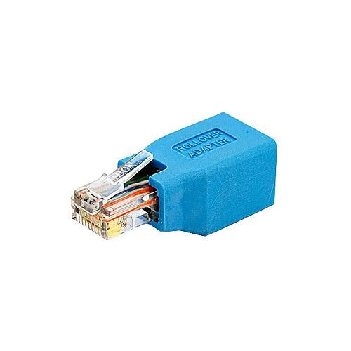 StarTech Cisco Console Rollover Adapter for RJ45 Ethernet Cable M/F 1 x RJ-45 Female Network 1 x RJ-45 Male Network Blue