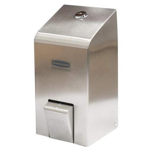 Rubbermaid 400ml Spray Soap Dispenser Stainless Steel