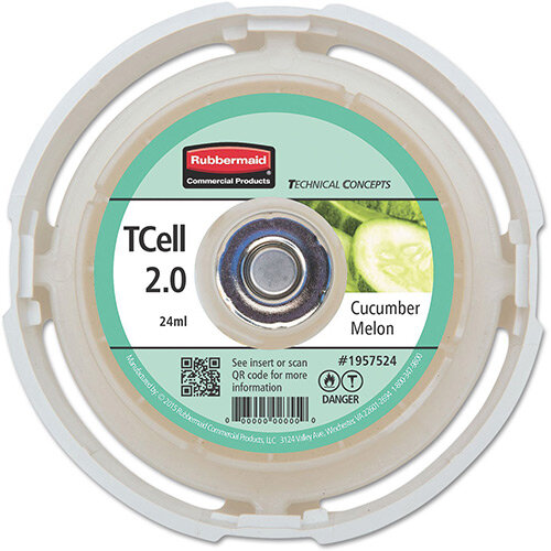 Rubbermaid Passive Air Care T-Cell 2.0 Airfreshener Dispenser Refill Cartridge Cucumber Melon