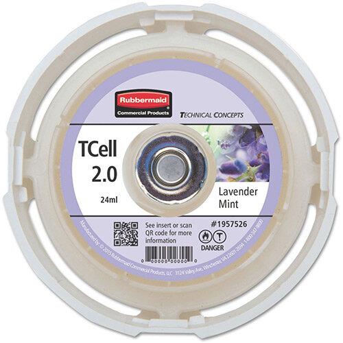 Rubbermaid Passive Air Care T-Cell 2.0 Airfreshener Dispenser Refill Cartridge Lavender Mint