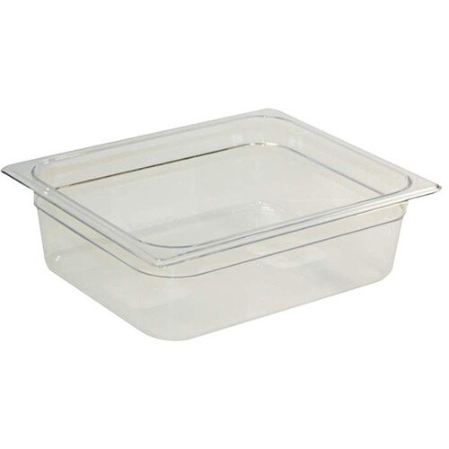 Rubbermaid 1/2 Size 100mm 6L Gastronorm GN Food Pan For Cold Food Clear