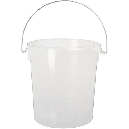 Rubbermaid 20.8L Round Storage Container With Handles Clear