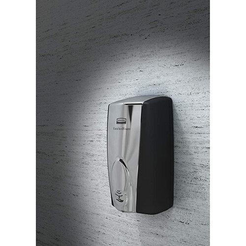 Rubbermaid AutoFoam Soap Dispenser 1100ml Black &Chrome