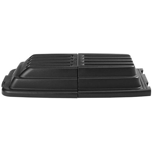 Rubbermaid Lid for Cube and FG9T1300 and FG9T1400 Utility Tilt Trucks Black