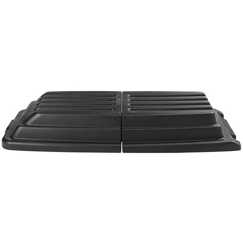 Rubbermaid Lid for Cube and FG9T1500 and FG9T1600 Utility Tilt Trucks Black