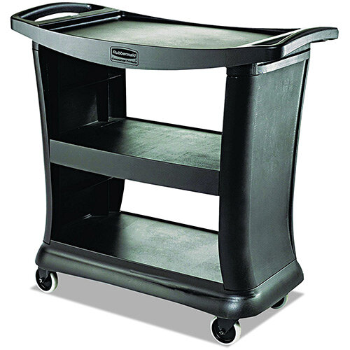 Rubbermaid Executive Service Cart Black