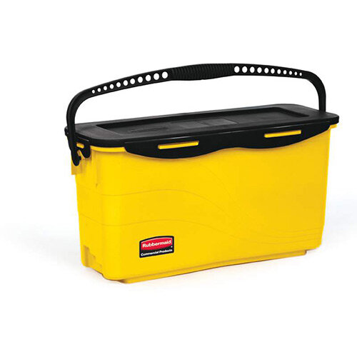 Rubbermaid Top Down Charging Bucket Yellow