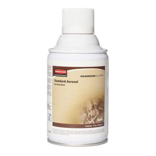 Rubbermaid Microburst 3000 243ml LED &LCD Aerosol Air Freshener Dispenser Refill Essence of Oudh 243ml
