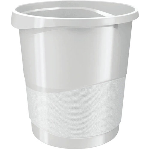 Rexel Choices Waste Bin White 2115620
