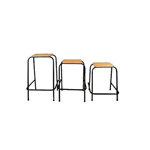 Student Stool Stackable 600mm High  #SSC