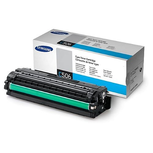 Samsung CLT-C506S Cyan Laser Toner Cartridge