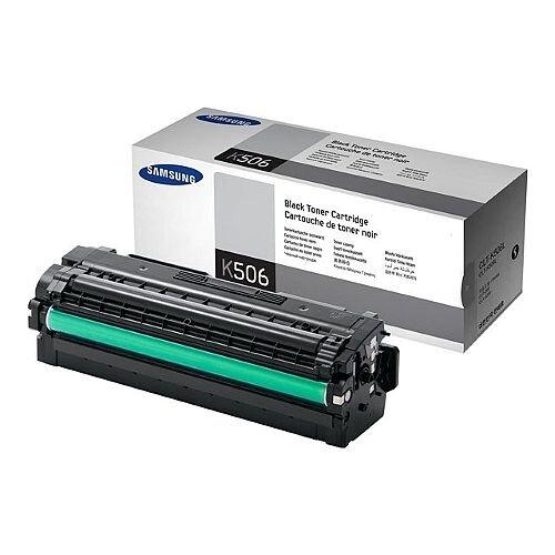 Samsung CLT-K506L High Yield Black Laser Toner Cartridge