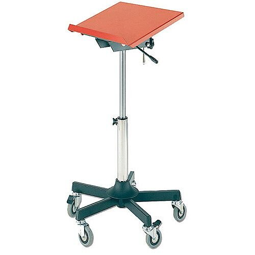 Mobile Work Stand Adjustable Single 500x300mm 309291