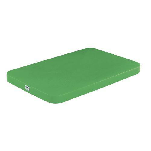 Polypropylene Lid for T322 Low Density 5.5Kg Green 329068