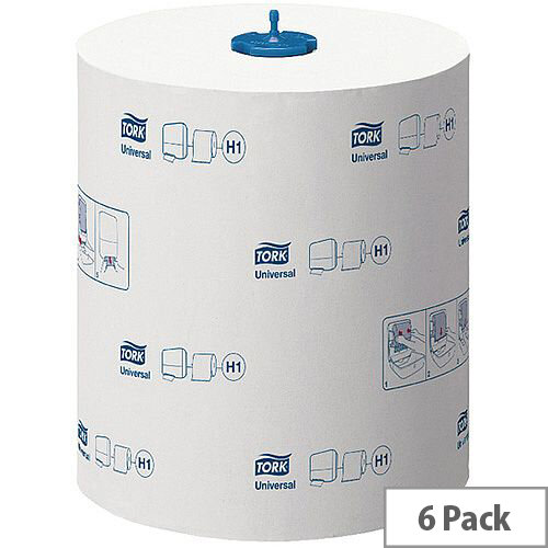 Tork Matic Extra Long Hand Towel Rolls Universal 2 Ply 280m (6 Rolls) 290059
