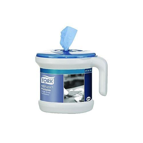 Tork Reflex Portable Dispenser and Roll Starter Pack 473128