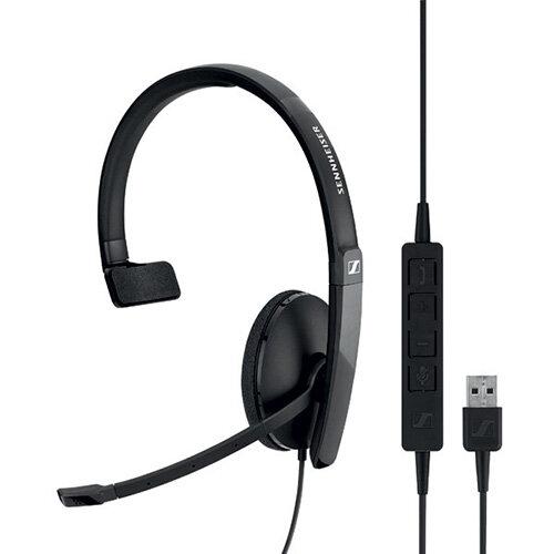 Sennheiser SC130 USB Monaural Headset Black 508314