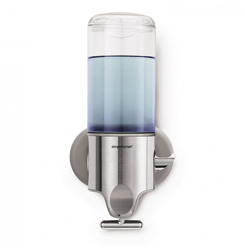 Simplehuman Wall Mountable Stainless Steel Soap Dispenser Pump Single BT1034