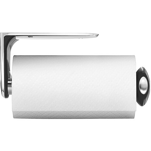 Simplehuman Kitchen Roll Holder Wall Mountable, Brushed Steel KT1086