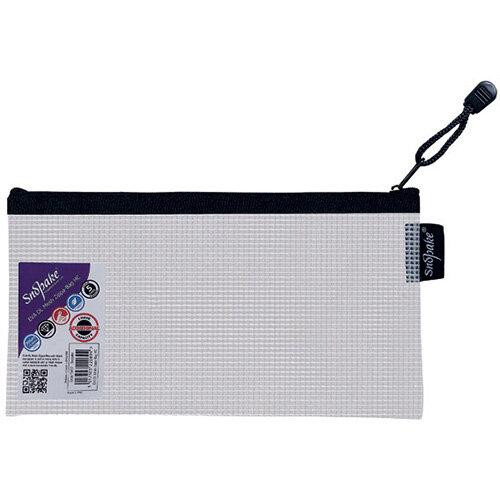 Snopake Eva Mesh Zippa Bag DL Pack of 3 15837