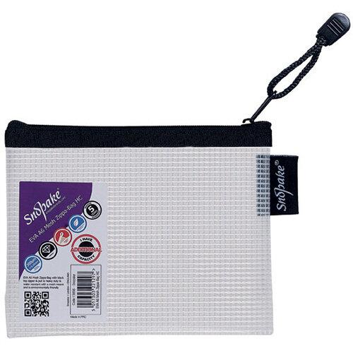 Snopake Eva Mesh Zippa Bag A6 Pack of 3 15856