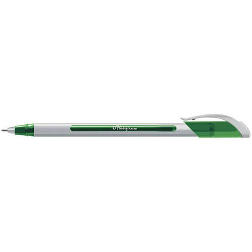 Platignum S-Tixx Ballpoint Pen Green 12 Pack 50515