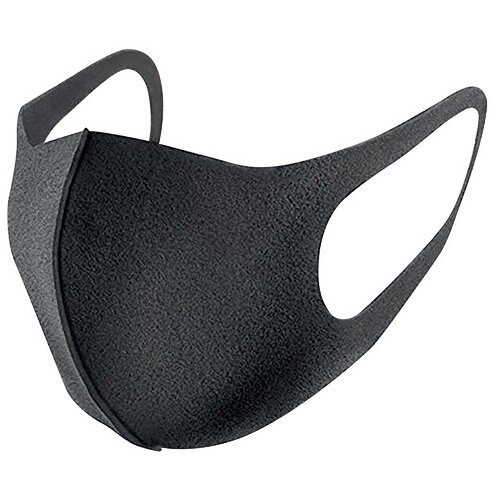 Reusable Polyurethane Face Mask Black SP269