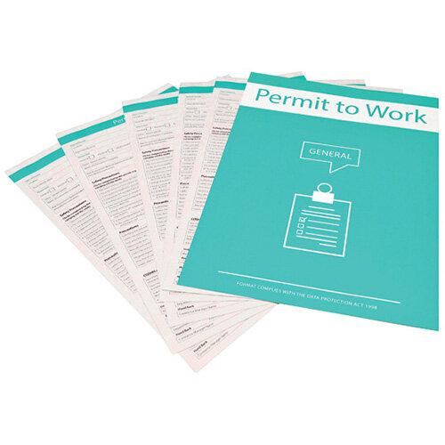 Spectrum Industrial General Permit To Work Forms 14887
