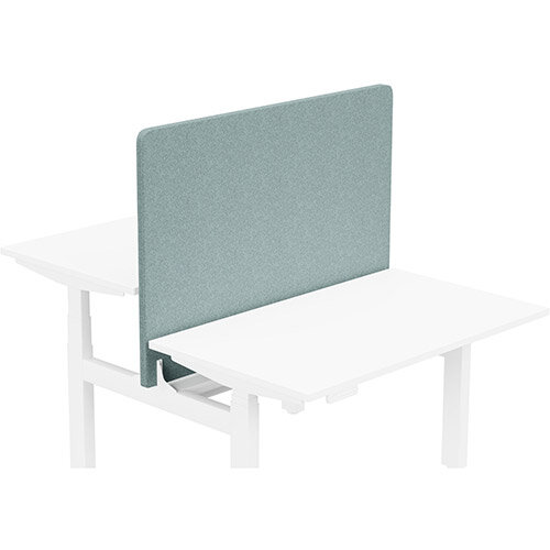 Acoustic Screen For Leap Height Adjustable Bench W1200xH850mm - Camira BLAZER LITE Fabric - Colour Code: LTH63-Harmony