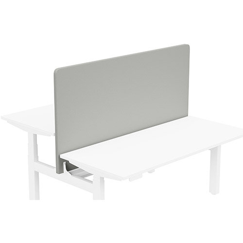 Acoustic Screen For Leap Height Adjustable Bench W1600xH850mm - Camira LUCIA Fabric - Colour Code: YB094-Slip