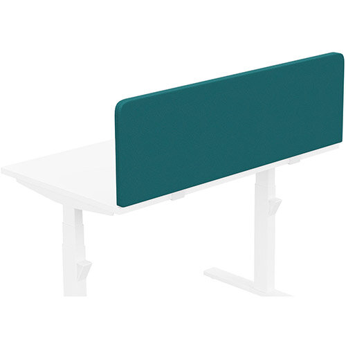 Acoustic Screen For Leap &Zoom Height Adjustable Desks W1200xH380mm - Camira LUCIA Fabric - Colour Code: YB011-Montserrat