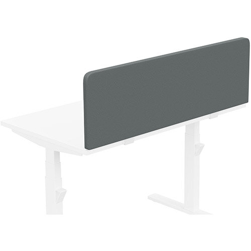 Acoustic Screen For Leap &Zoom Height Adjustable Desks W1200xH380mm - Camira LUCIA Fabric - Colour Code: YB019-Paseo