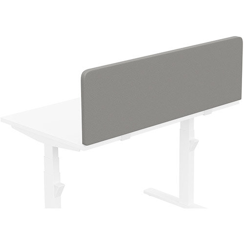 Acoustic Screen For Leap &Zoom Height Adjustable Desks W1200xH380mm - Camira LUCIA Fabric - Colour Code: YB038-Tequila
