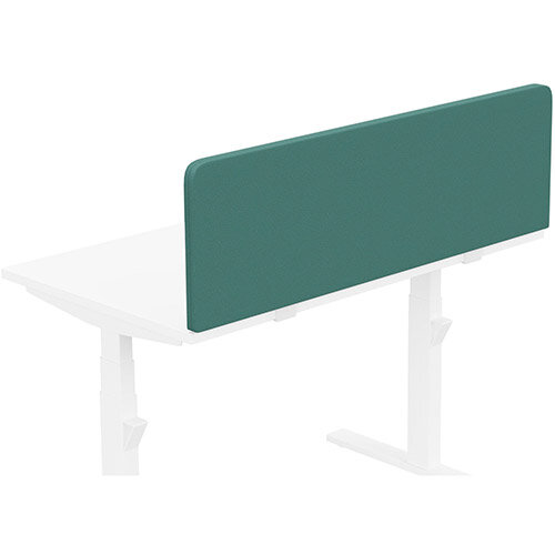 Acoustic Screen For Leap &Zoom Height Adjustable Desks W1200xH380mm - Camira LUCIA Fabric - Colour Code: YB047-Windjammer