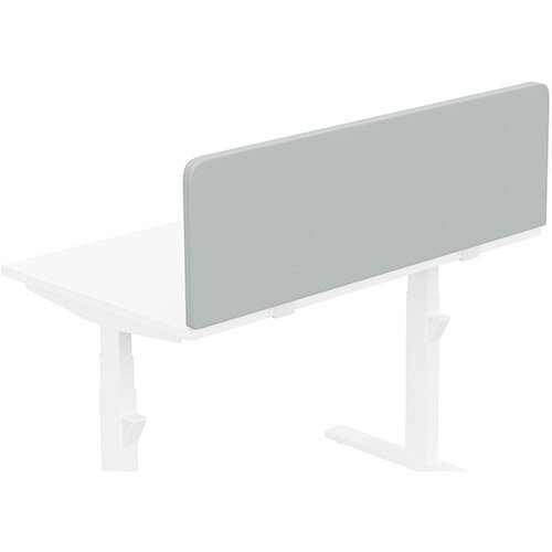 Acoustic Screen For Leap &Zoom Height Adjustable Desks W1200xH380mm - Camira LUCIA Fabric - Colour Code: YB086-Rum