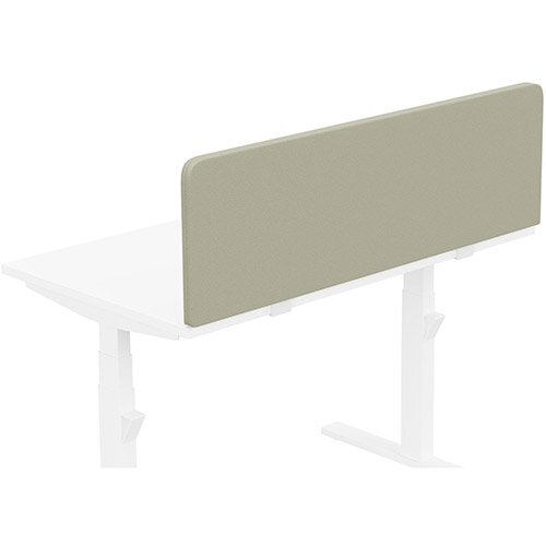 Acoustic Screen For Leap &Zoom Height Adjustable Desks W1200xH380mm - Camira LUCIA Fabric - Colour Code: YB093-Aruba