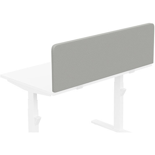 Acoustic Screen For Leap &Zoom Height Adjustable Desks W1200xH380mm - Camira LUCIA Fabric - Colour Code: YB094-Slip