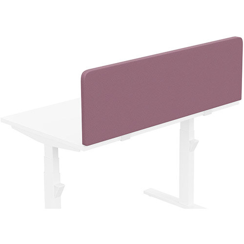 Acoustic Screen For Leap &Zoom Height Adjustable Desks W1200xH380mm - Camira LUCIA Fabric - Colour Code: YB102-Bridgetown