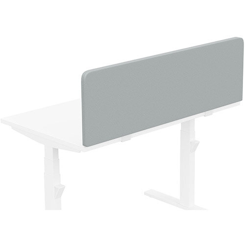 Acoustic Screen For Leap &Zoom Height Adjustable Desks W1200xH380mm - Camira LUCIA Fabric - Colour Code: YB170-Buru