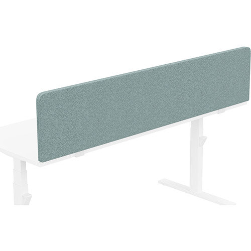 Acoustic Screen For Leap &Zoom Height Adjustable Desks W1800xH380mm - Camira BLAZER LITE Fabric - Colour Code: LTH63-Harmony