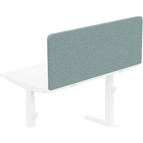 Acoustic Screen For Leap &Zoom Height Adjustable Desks W1200xH480mm - Camira BLAZER LITE Fabric - Colour Code: LTH63-Harmony