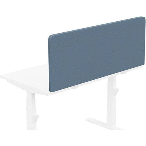 Acoustic Screen For Leap &Zoom Height Adjustable Desks W1200xH480mm - Camira LUCIA Fabric - Colour Code: YB004-Martinique