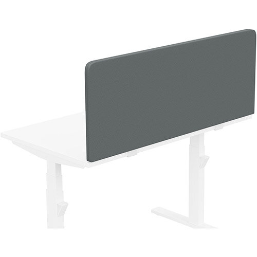 Acoustic Screen For Leap &Zoom Height Adjustable Desks W1200xH480mm - Camira LUCIA Fabric - Colour Code: YB019-Paseo