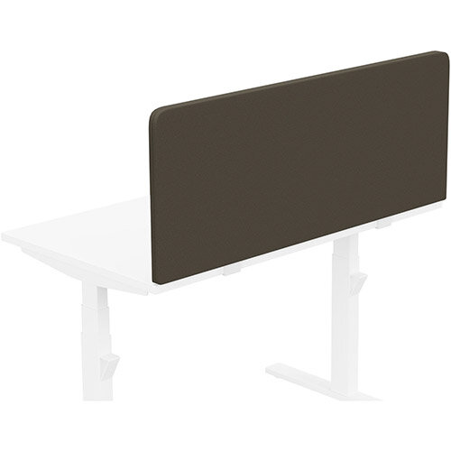 Acoustic Screen For Leap &Zoom Height Adjustable Desks W1200xH480mm - Camira LUCIA Fabric - Colour Code: YB046-Sombrero