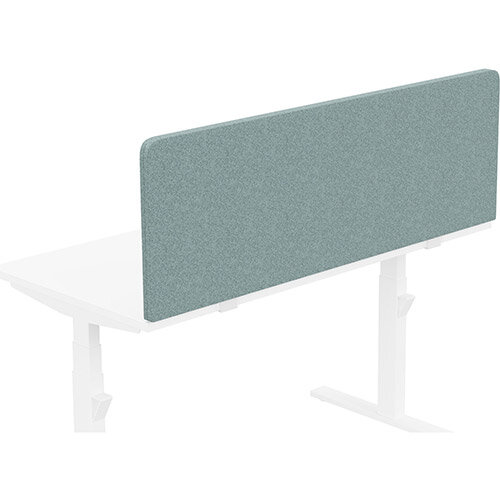 Acoustic Screen For Leap &Zoom Height Adjustable Desks W1400xH480mm - Camira BLAZER LITE Fabric - Colour Code: LTH63-Harmony
