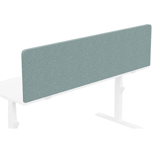 Acoustic Screen For Leap &Zoom Height Adjustable Desks W1800xH480mm - Camira BLAZER LITE Fabric - Colour Code: LTH63-Harmony